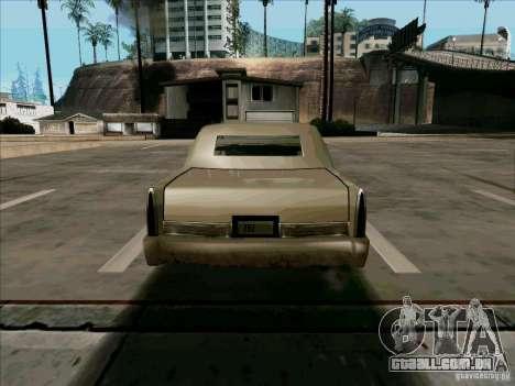 Uma limusine curta para GTA San Andreas vista direita