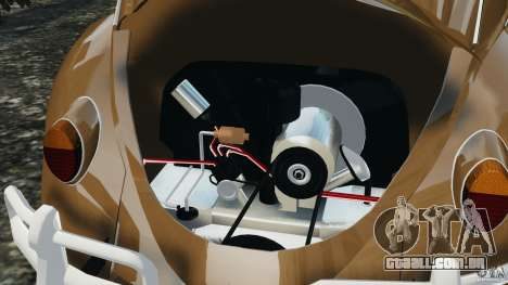 Volkswagen Fusca Gran Luxo v2.0 para GTA 4 vista inferior