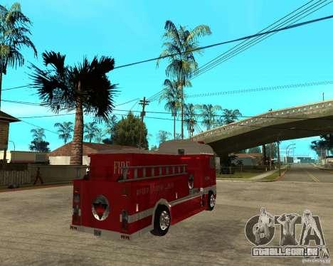 DAF XF 530 fogo para GTA San Andreas