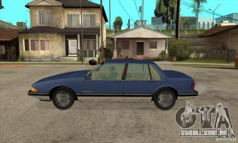 Pontiac Bonneville 1989 para GTA San Andreas esquerda vista