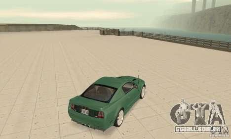 Saleen S281 v2 para GTA San Andreas traseira esquerda vista