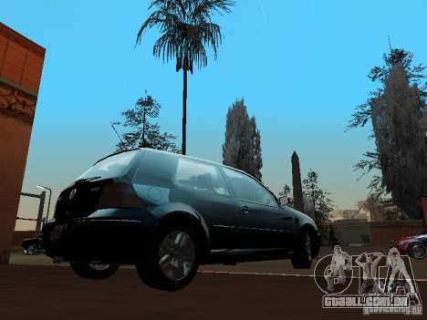 Volkswagen Golf 4 GTI para GTA San Andreas traseira esquerda vista