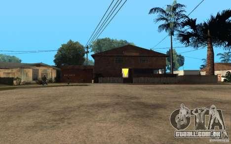 S.T.A.L.K.E.R House para GTA San Andreas por diante tela