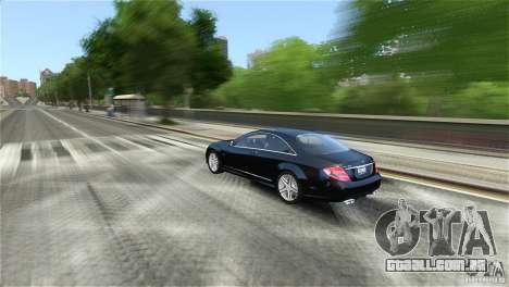 Mercedes-Benz CL65 AMG v1.5 para GTA 4 vista de volta