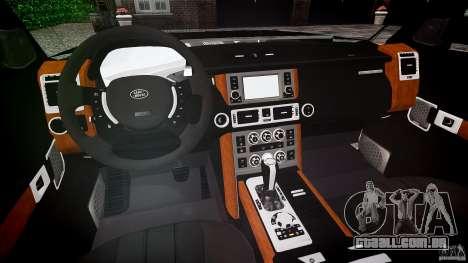Land Rover Discovery 4 2011 para GTA 4 vista direita