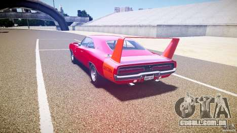 Dodge Charger Daytona 1969 [EPM] para GTA 4 traseira esquerda vista