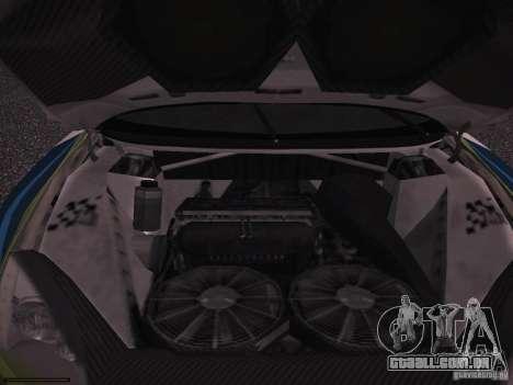 Ford Focus RS WRC 2006 para vista lateral GTA San Andreas