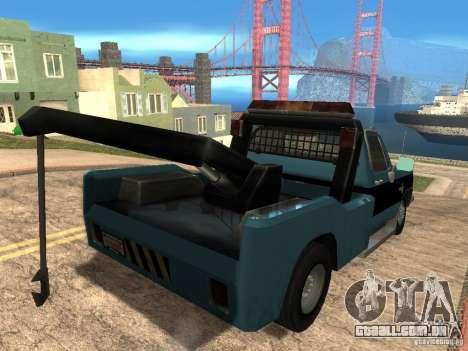 Chevrolet Towtruck para GTA San Andreas vista direita