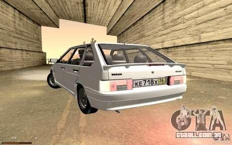 ВАЗ 2114 qualidade para vista lateral GTA San Andreas