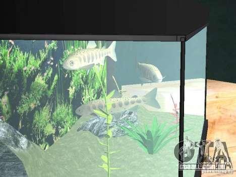 Aquário para GTA San Andreas terceira tela
