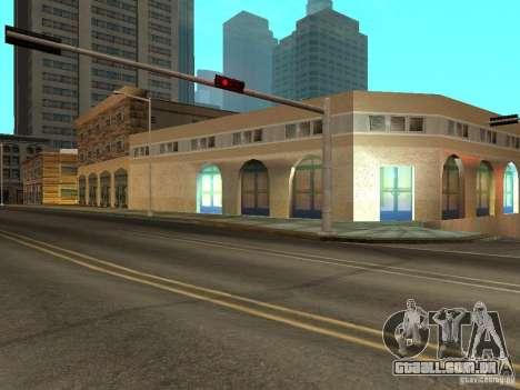 Nova rua Mullholland-novo Mulholland para GTA San Andreas terceira tela