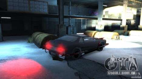 Apocalyptic Mustang Concept (Beta) para GTA 4 vista direita