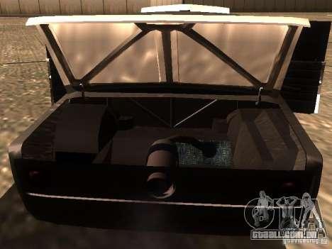 VAZ 2106 Drag Racing para GTA San Andreas vista inferior