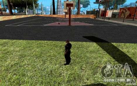 A nova quadra de basquete para GTA San Andreas sétima tela