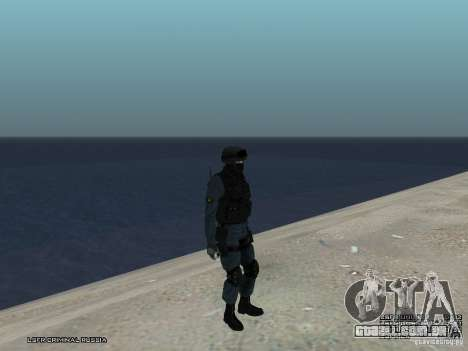 MOTIM policial para GTA San Andreas oitavo tela