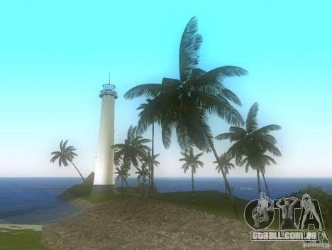 Vice City Real palms v1.1 Corrected para GTA Vice City terceira tela