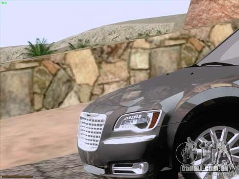 Chrysler 300 Limited 2013 para GTA San Andreas interior