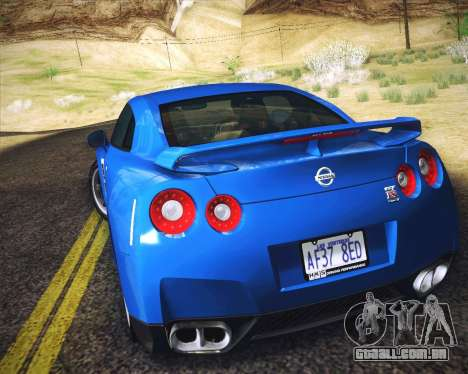 Realistic Graphics HD para GTA San Andreas quinto tela