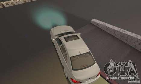 Lâmpadas de néon cor para GTA San Andreas