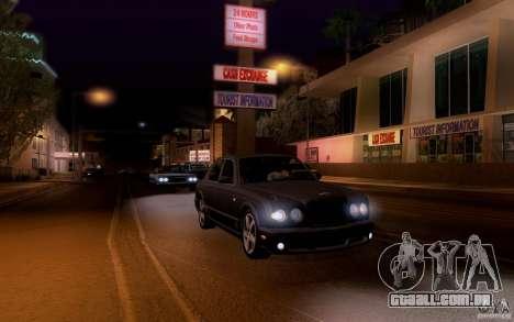 Bentley Arnage para GTA San Andreas vista superior