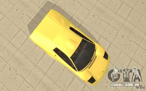 Infernus do GTA 4 para GTA San Andreas vista direita