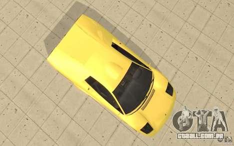 Infernus do GTA 4 para GTA San Andreas vista direita