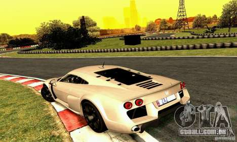 Noble M600 2010 V1.0 para vista lateral GTA San Andreas
