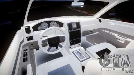 Chrysler 300C 2005 para GTA 4 vista de volta