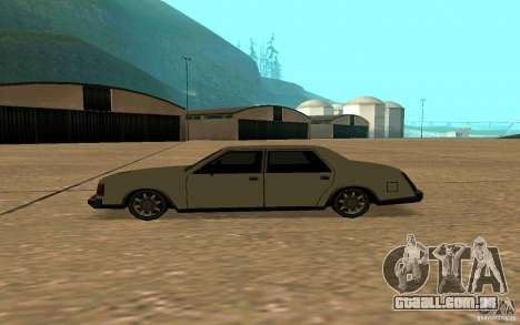 FBI Washington para GTA San Andreas esquerda vista