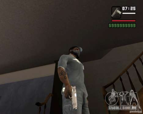 Kimber Desert Warrior para GTA San Andreas terceira tela