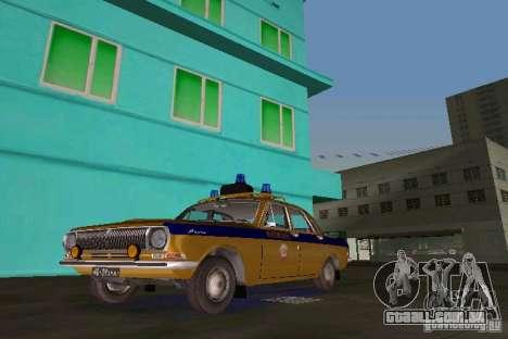 GAZ-24-milícia para GTA Vice City