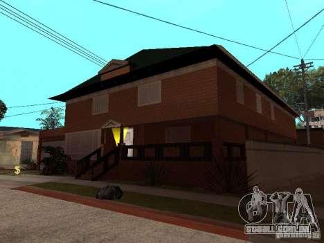 Casa de CJ em Russo para GTA San Andreas terceira tela