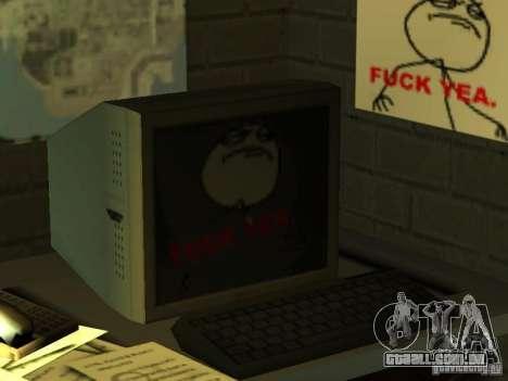Bar de merda Sim para GTA San Andreas sexta tela