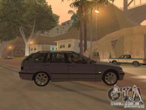 BMW 318 Touring para GTA San Andreas vista direita