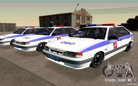 Polícia PSB Vaz 2114 para GTA San Andreas