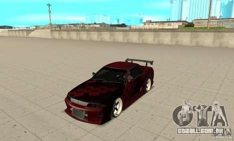 Nissan Skyline R32 Drift Edition para GTA San Andreas