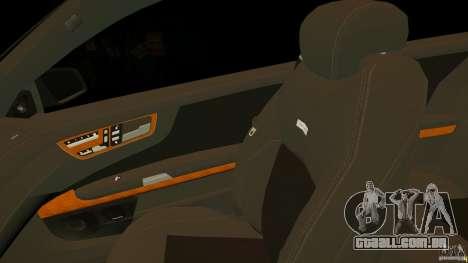 Mercedes-Benz CL65 AMG Stock para GTA 4 vista superior