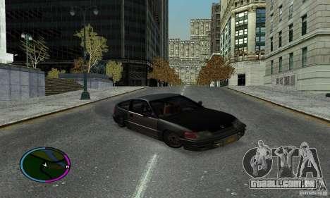 Honda CRX Tuned para GTA San Andreas vista direita