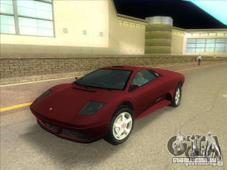 Infernus do GTA IV para GTA Vice City