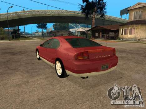 Dodge Intrepid para GTA San Andreas esquerda vista
