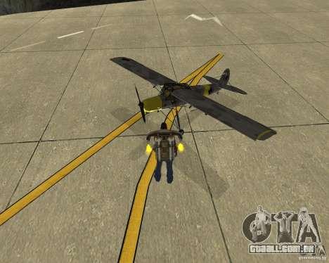 Transporte aéreo de Pak para GTA San Andreas vista direita