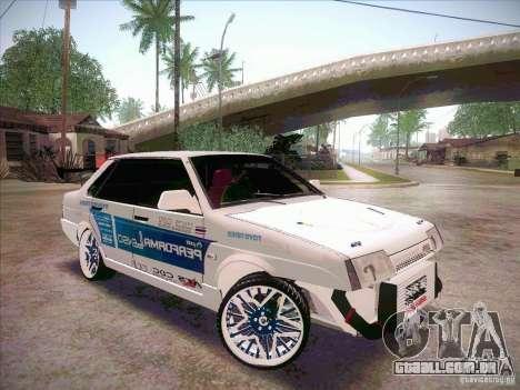 VAZ 21099 Drift Style para GTA San Andreas vista direita