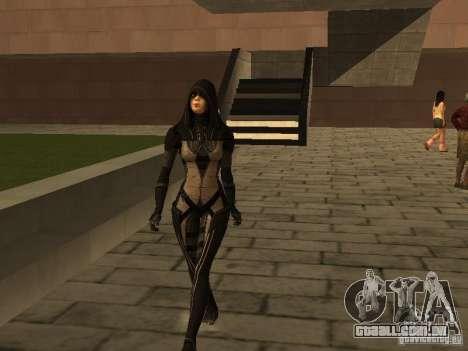 Girls from ME 3 para GTA San Andreas por diante tela