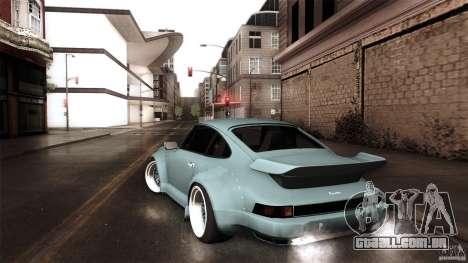 Porsche 911 Turbo RWB DS para GTA San Andreas esquerda vista