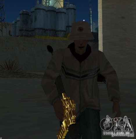 [GOLD] m4 para GTA San Andreas terceira tela