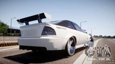 Sultan RS 3.0 para GTA 4 esquerda vista