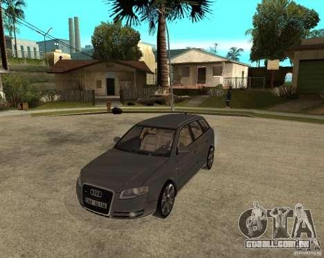 Audi A4 2005 Avant 3.2 quattro para GTA San Andreas