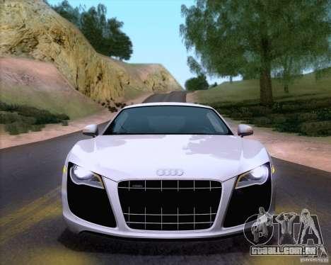 Audi R8 v10 2010 para GTA San Andreas vista direita
