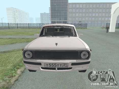 GAZ-24 Volga 105 para GTA San Andreas vista direita