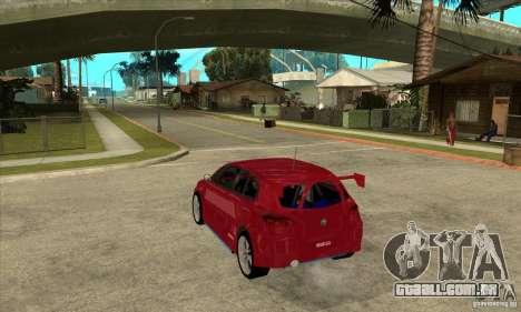 Alfa Romeo 147 para GTA San Andreas traseira esquerda vista